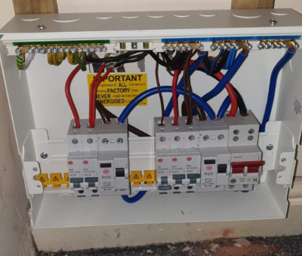 Fuse box by GHE Electricians Wigan